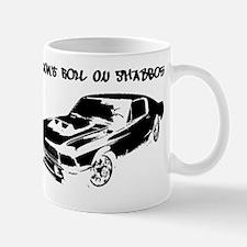DontRoll-Car-black Mug