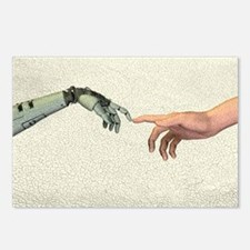 Artificial intelligence,  Postcards (Package of 8)