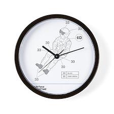 Hawk Pilot Wall Clock