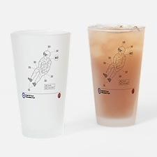 Hawk Pilot Drinking Glass