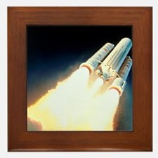 Artist's impression of the launch of a Framed Tile