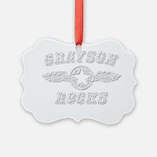 GRAYSON ROCKS Ornament