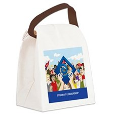 Note Cards Canvas Lunch Bag