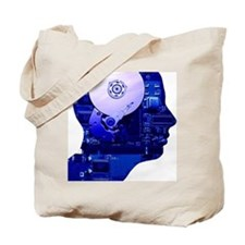 Artificial intelligence and cybernetics Tote Bag