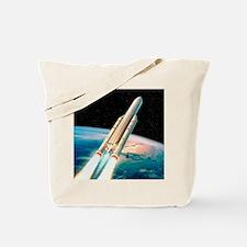 Ariane 5 rocket Tote Bag