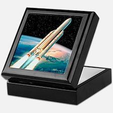 Ariane 5 rocket Keepsake Box