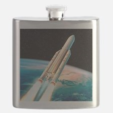 Ariane 5 rocket Flask