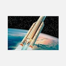 Ariane 5 rocket Rectangle Magnet