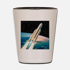 Ariane 5 rocket Shot Glass