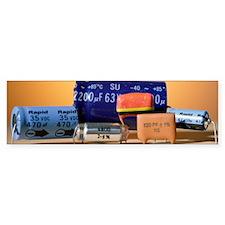 Assorted capacitors Bumper Sticker