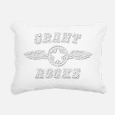 GRANT ROCKS Rectangular Canvas Pillow