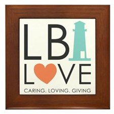 LBI LOVE  Framed Tile