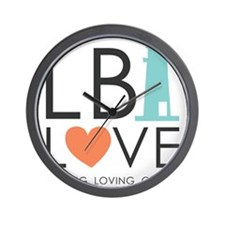 LBI LOVE  Wall Clock