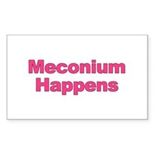 The Meconium Rectangle Decal