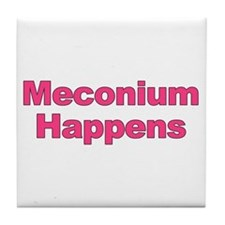 The Meconium Tile Coaster