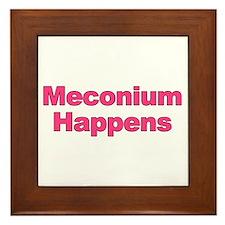 The Meconium Framed Tile
