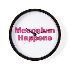 The Meconium Wall Clock