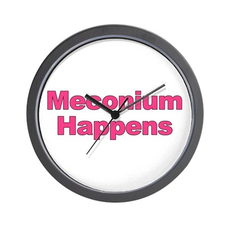 The Meconium Wall Clock