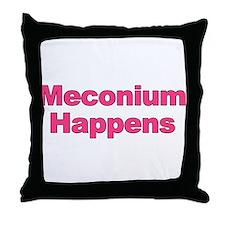 The Meconium Throw Pillow
