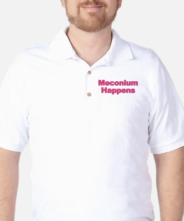 The Meconium Golf Shirt