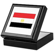 Egypt flag Keepsake Box