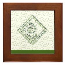 Tote Bag Framed Tile