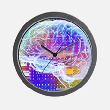 Artificial intelligence Wall Clock