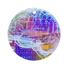 Artificial intelligence Round Ornament