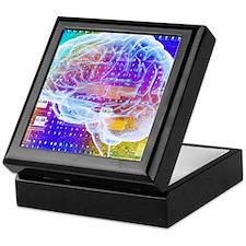 Artificial intelligence Keepsake Box