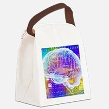 Artificial intelligence Canvas Lunch Bag