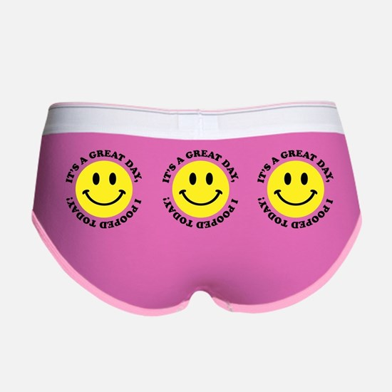 I Pooped Today Women's Boy Brief