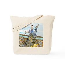 King Conan Final 300 dpi 10 inch Tote Bag
