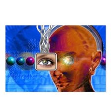 Artificial intelligence Postcards (Package of 8)