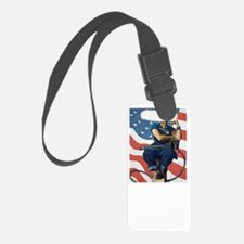Rosie the Riveter - A womans Pla Luggage Tag