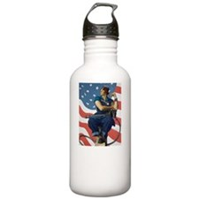 Rosie the Riveter - A  Water Bottle