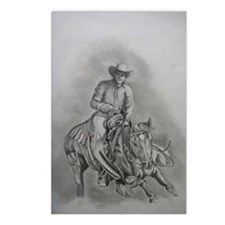 Cuttin' Cowboy Postcards (Package of 8)