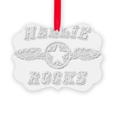 HALLIE ROCKS Ornament
