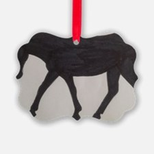 Mule outline Ornament