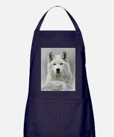 White Wolf Apron (dark)