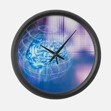 Artificial intelligence Large Wall Clock
