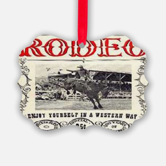 Vintage Rodeo Ornament