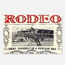 Vintage Rodeo Postcards (Package of 8)
