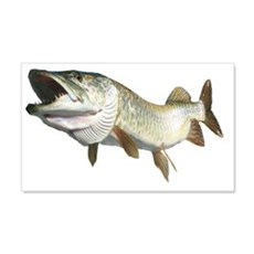 Toothy musky Wall Decal