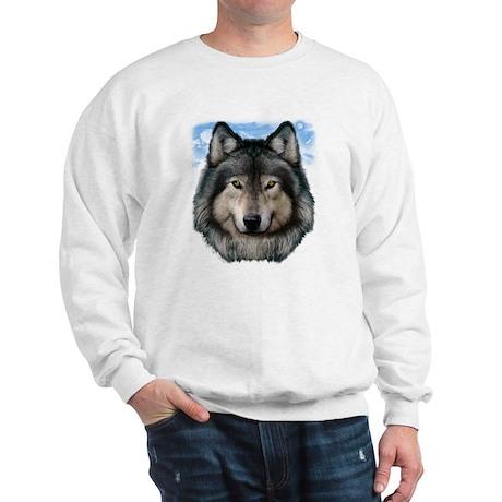 Wolf Head 2 Sweatshirt