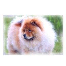 Gazing Chow Chow Watercol Postcards (Package of 8)