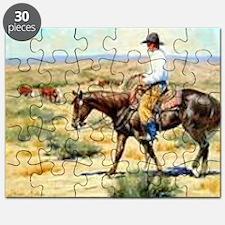 Cowboy Painting Puzzle