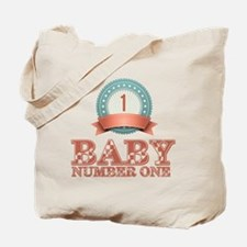 Baby Number 1 Tote Bag