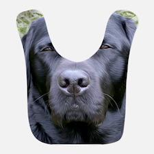 Black Labrador Retriever Bib