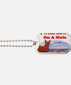 Grand Canyon Mule Dog Tags
