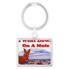 Grand Canyon Mule Landscape Keychain